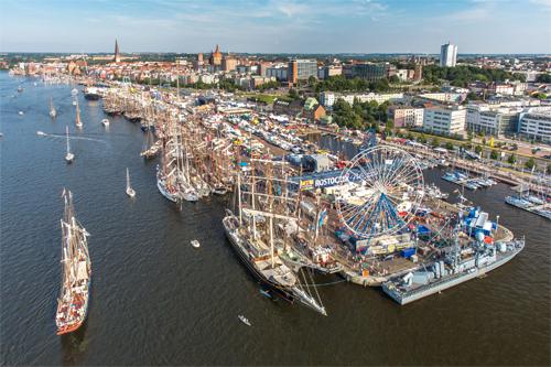 30. Hanse Sail 2020 in Rostock